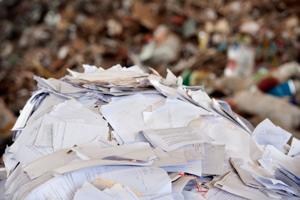 paper waste disposal